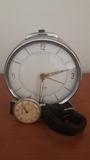 Pack despertador y reloj antiguos de cue - foto