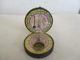 reloj solar y brújula,las casillas 1990. - foto