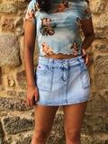 Mini falda  vaquera - foto