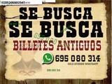 Queremos Billetes Extranjeros y Españole - foto