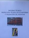 Certificado de estanterías - foto
