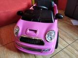 vendo coche bateria rosa - foto