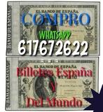 Compro billetes de España y Guerra civil - foto