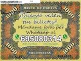 Cogemos Billetes de las antiguos pesetas - foto
