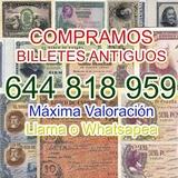 Compro Billetes Españoles Tasación telef - foto
