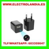 9eN  Cargador USB Camara Espia HD - foto
