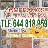 Busco Billetes de las antiguos pesetas V - foto