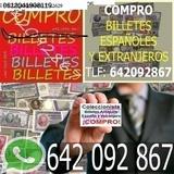 Recogemos Billetes Españoles Conozca Val - foto