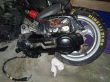 Tubo de escape de moto kinko - foto