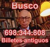 Buscamos Billetes Españoles Tasamos Onli - foto