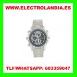cdl7A  Reloj Metalico Camara Espia HD - foto