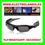 6g7  Gafas de Sol Mini Camara Oculta HD - foto