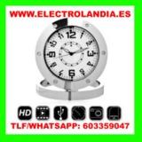 lkDJb  Reloj Sobremesa Mini Camara Ocult - foto