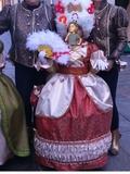 traje de carnaval de epoca - foto