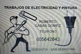 Electricista - Pintor de viviendas - foto
