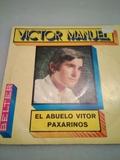 DISCO DE VINILO VÍCTOR MANUEL EL ABUELO