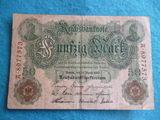 Alemania, Billete 50 marcos 1910 - foto