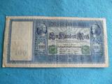 Alemania, Billete 100 Marcos 1910 - foto