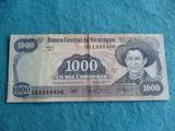 Nicaragua, Billete 1000 Cordobas 1985 - foto