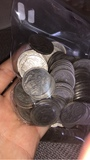 Monedas franco, reales etc - foto