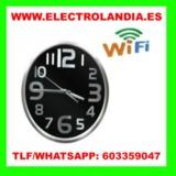 tVtrS  Reloj de Pared Camara Espia HD Wi - foto