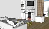 Diseño 3D de Mobiliario con despiece - foto