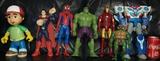Superheroe superman spiderman ironman - foto