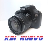 Camara reflex digital canon eos 4000d - foto