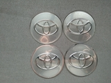 Pegatinas llantas Toyota gris gris 64mm. - foto