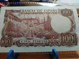 billetes variados de la peseta de Franco - foto