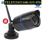 fOn camara exterior vigilancia - foto