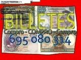 Colecciono Billetes antiguos Tasamos al - foto