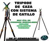 Tripode GEN3 de gatillo CAZA - foto