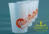 Vaso reutilizable serigrafiado 1 color - foto
