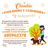 Paseadora y cuidadora de mascota - foto