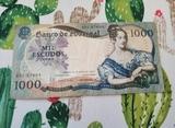 Billete de 1000 escudos de 1967 - foto