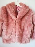 Chollo! Vendo abrigo rosa pelo sin uso! - foto