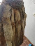 ChaquetÓnes de piel de zorro, talla 38 - foto