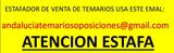 ESTAFADOR VENDE TEMARIOS OPOSICIONES - foto