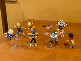 Lote figuras gashapon Dragon ball. - foto
