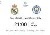 Real Madrid - Manchester City - foto
