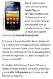 Vendo móvil Samsung Galaxy Y Duos - foto