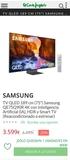 TV Samsung 75 pulgadas QLED - foto