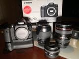 Equipo fotográfico Canon - foto