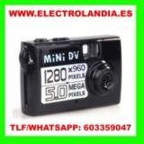 bcT6  Mini DV Camara Espia HD - foto