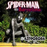 Black Spiderman para tus eventos - foto