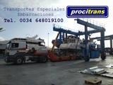 TRANSPORTE EMBARCACIONES BÉLGICA-ESPAÑA - foto