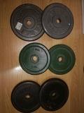 pesas y barras para musculacion - foto