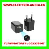M8x  Cargador USB Mini Camara Oculta HD - foto