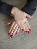 manicura y pedicura, uñas acrilicas/gel - foto